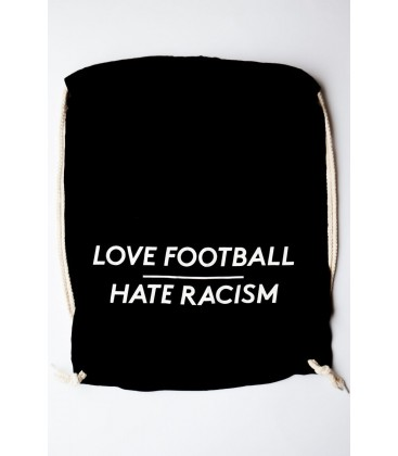 Gymsac Love Football - Hate Racism