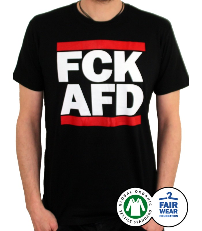 t shirt fck afd no borders shop. Black Bedroom Furniture Sets. Home Design Ideas