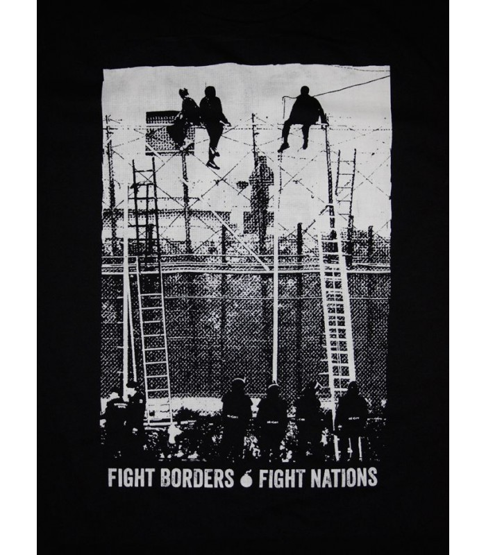 t shirt fight borders fight nations no borders shop. Black Bedroom Furniture Sets. Home Design Ideas