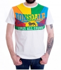 T-Shirt Lonsdale Loves all Colours