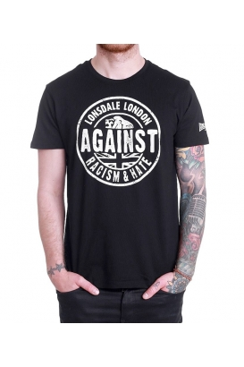 T-Shirt Lonsdale Against Racism