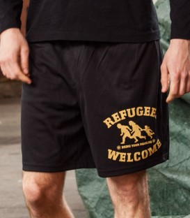 Shorts Refugees Welcome Men