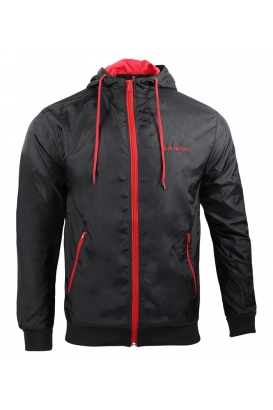 Jacket CONTRAST - blk/red
