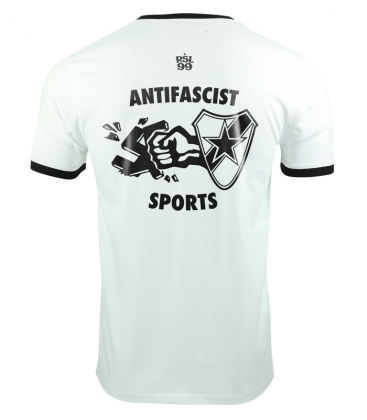 Antifascist Sports - T-Shirt - weiß