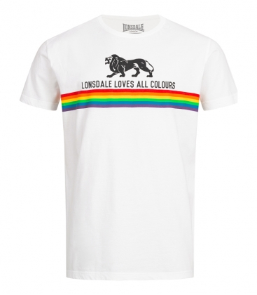 Lonsdale Loves All Colours T-Shirt - Nelson