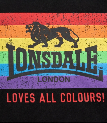 Lonsdale Loves All Colours T-Shirt - Marley