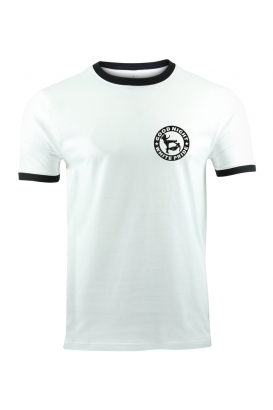 T-Shirt GOOD NIGHT WHITE PRIDE - weiß/schwarz