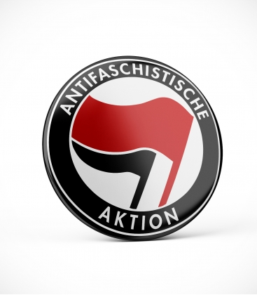 Antifaschistische Aktion - Button