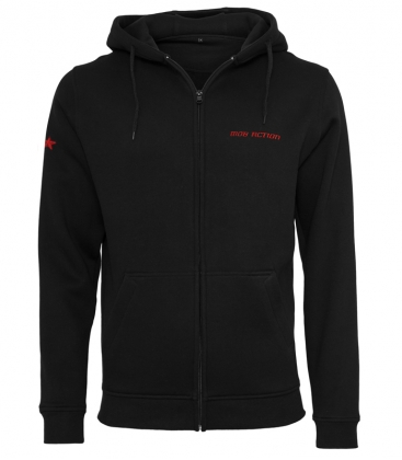 Mob Action - Classic Zipper - Black/Red