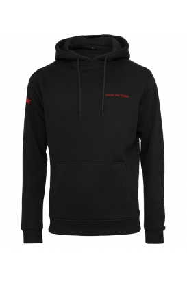 Mob Action - Classic Hoody - Black/Red