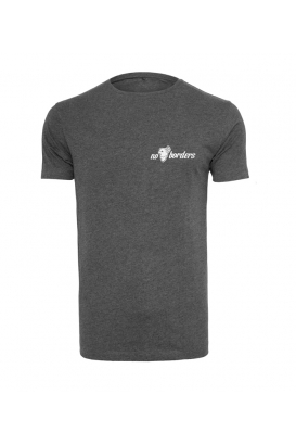 T-Shirt - No Borders - Dark grey