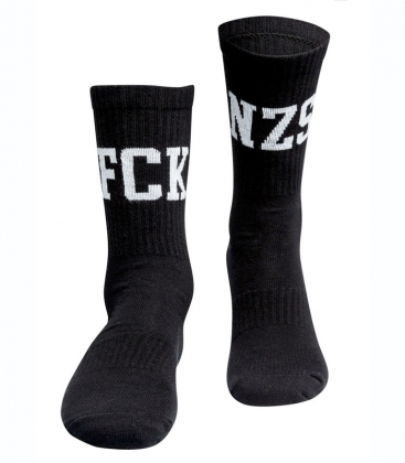 True Rebel - Socken - FCK NZS - Black