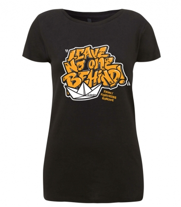 Leave No One Behind - Soli-Shirts - tailliert