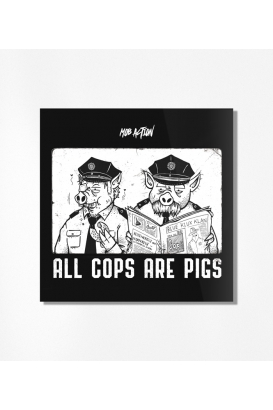 30 Sticker - A.C.A.P. - All Cops Are Pigs