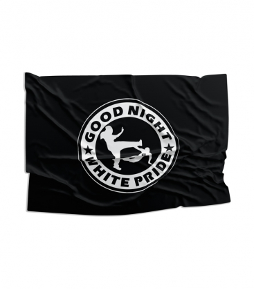 Fahne - Good Night White Pride