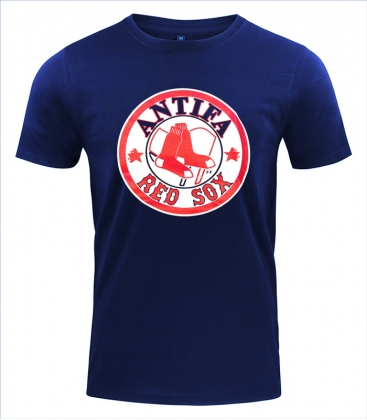 Antifa Red Sox - T-Shirt - Fire and Flames