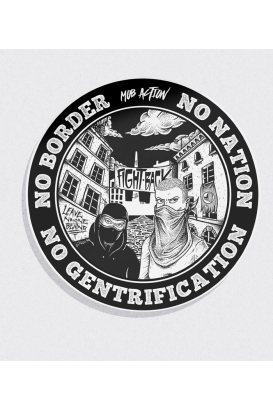 30 Sticker - No Gentrification