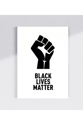 30 Sticker - Black Lives Matter