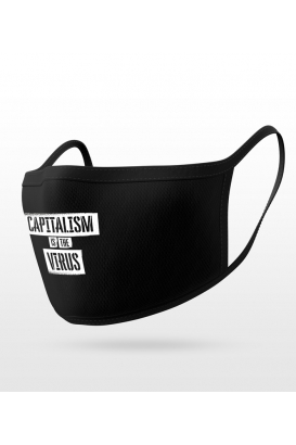 Capitalism is the virus - Gesichtsmaske