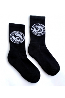 Tennissocken - Good Night White Pride - black