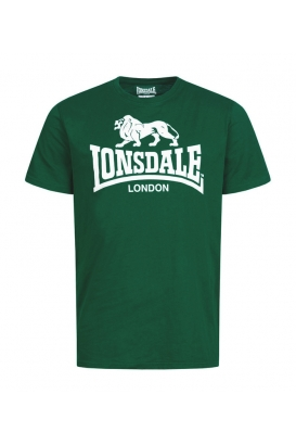 T-Shirt Lonsdale Logo Bottle Green