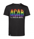 T-Shirt - ACAB - All Colours Are Beautiful - black