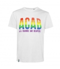 T-Shirt - ACAB - All Colours Are Beautiful - white