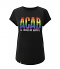 T-Shirts - ACAB - All Colours Are Beautiful - black - tailliert