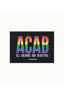 30 Sticker - ACAB - All Colours Are Beautiful